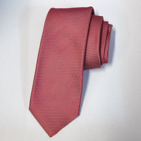 7-Fold Tie Micro-Pattern - Red